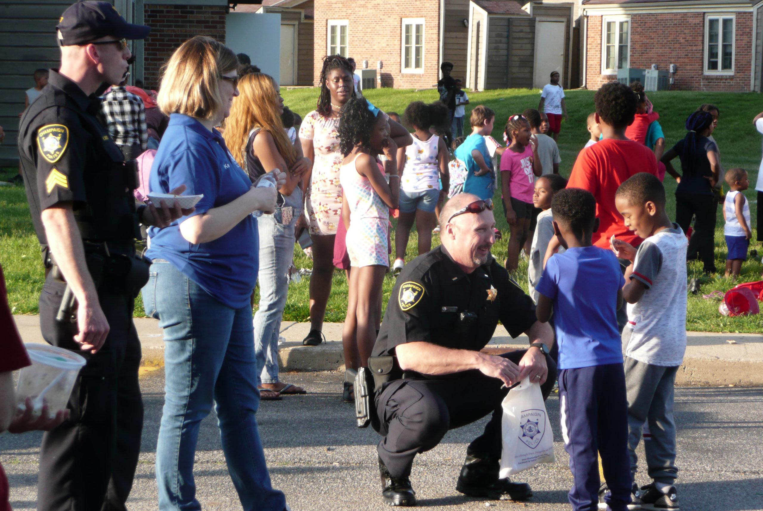 Police-community engagement